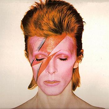 Création d'une société secrète David-Bowie-Ziggy-Stardust-Make-Up