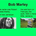 diporama de Bob Marley